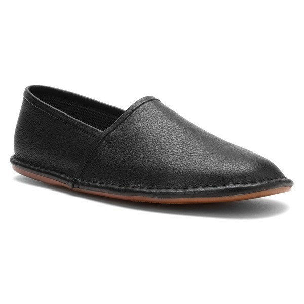 L.B. Evans Lars Slipper, Black Leather