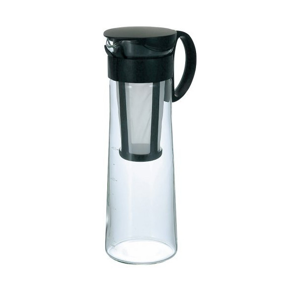 Hario MCPN-14B Water Brew Coffee Pot, 1000ml, Black, 2 Pots