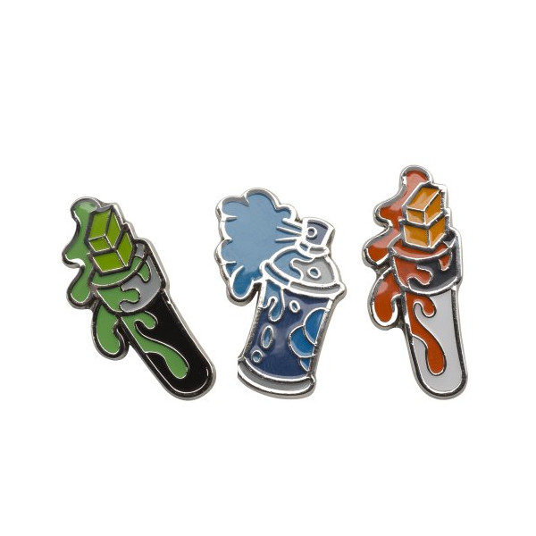 Kidrobot Pricks Enamel Pins