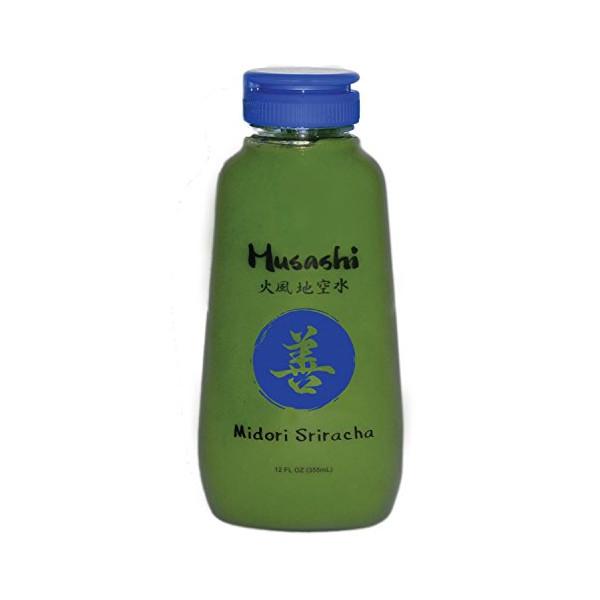 Musashi Foods Midori Green Chili Sriracha Sauce, 12 Ounce