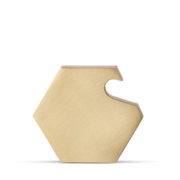 Ferm Living Hexagon Bottle Opener, Solid Brass