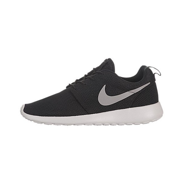 Nike Roshe Run - Black / Medium Grey-Hyper Blue, 11.5 D US