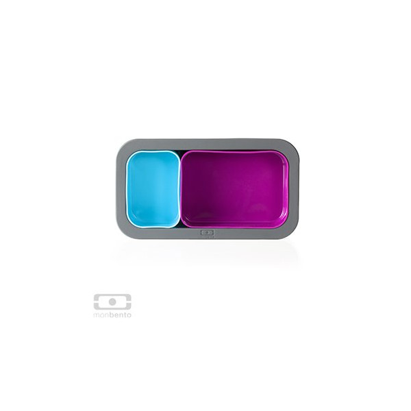 MB Silicase fuchsia+light blue - The 3 silicone moulds suitable for MB Original