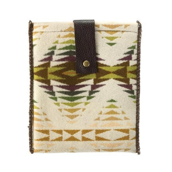 Pendleton Woolen Mills Tablet Holder Ipad Case, Pescos Ivory