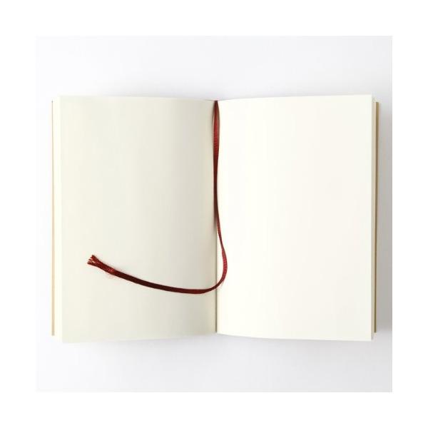MUJI Blank Mini Notebook Japanese Paperback-size Unruled 144sheets
