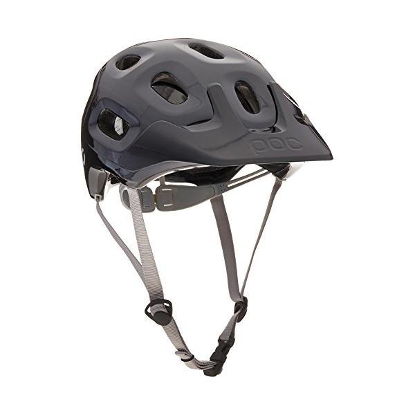 POC Trabec Bike Helmet, Uranium Black, Medium/Large