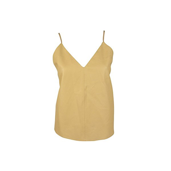 Bec & Bridge Natural Easy Rider Strappy Leather Camisole