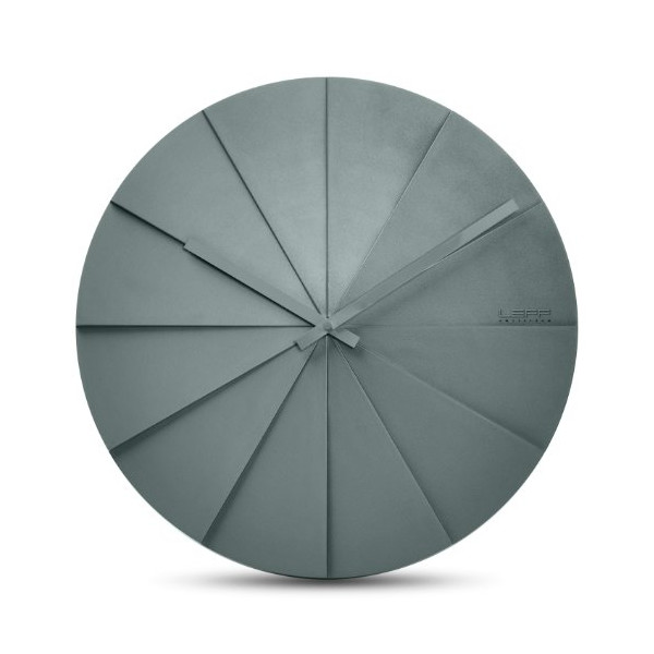 Scope45 Wall Clock Color: Grey
