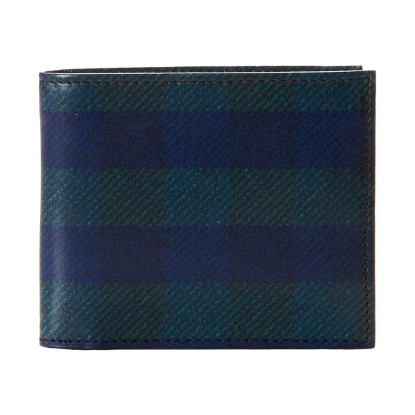 Fred Perry Printed Check Billfold Wallet
