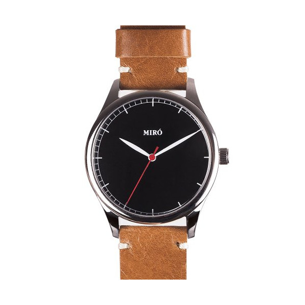 Miró Watch - Black/Honey
