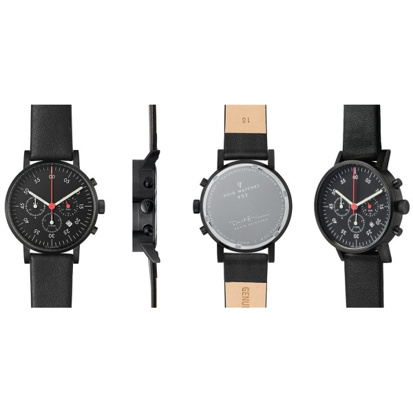 VOID V03C Watch - Black/Black