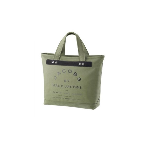 Marc By Marc Jacobs Small Canvas Jacobs Tote Army Green