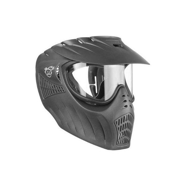 Paintball Xtreme Rage Xray Single Lens Anti-Fog Mask/Goggle