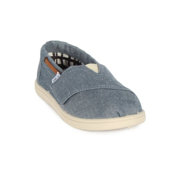 Chambray Tiny TOMS Classics 013131D13 - 4 M US Toddler Color: Chambray