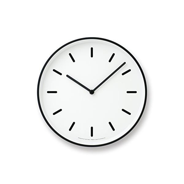 Lemnos MONO Clock, White