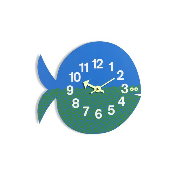 George Nelson Fernando The Fish Clock by Vitra