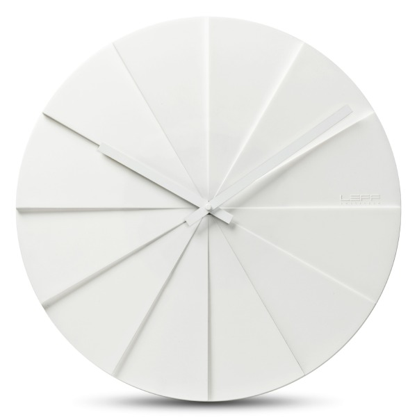 Scope45 Wall Clock, White