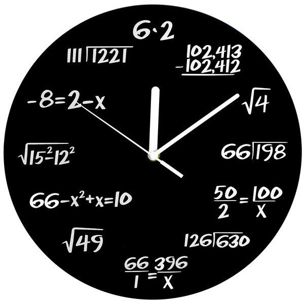 Decodyne™ Math Clock