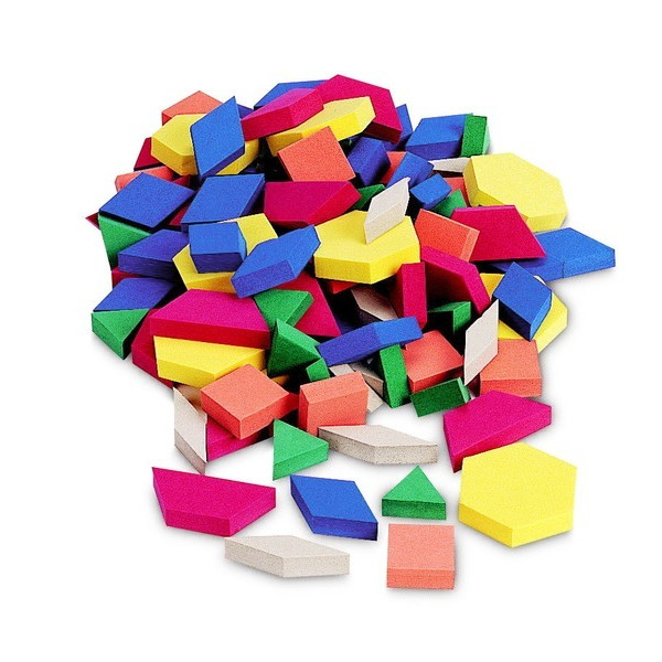 Foam Magnets, Pattern Blocks