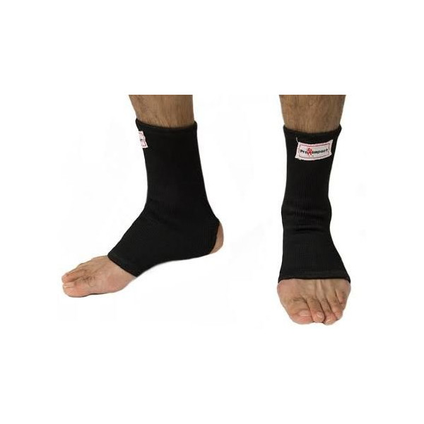 Pro Impact Muay Thai MMA Ankle Support Wraps (1 Pair) - XL