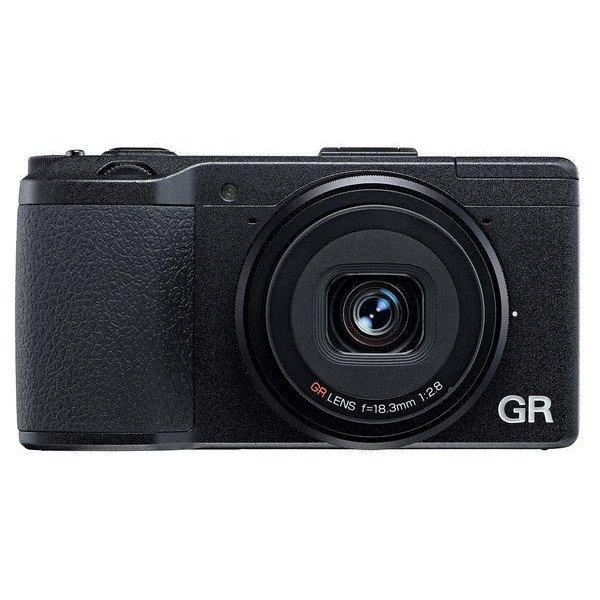 Ricoh GR 16.2 MP Digital Camera with 3.0-Inch LED Backlit