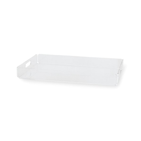 Torre & Tagus Lucite Tray, Large