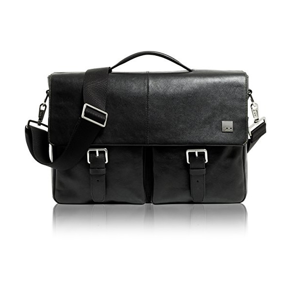 Knomo Jackson Briefcase,Black,one size