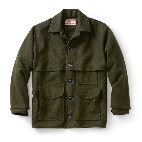 Filson Men's Mackinaw Cruiser, Forest Green