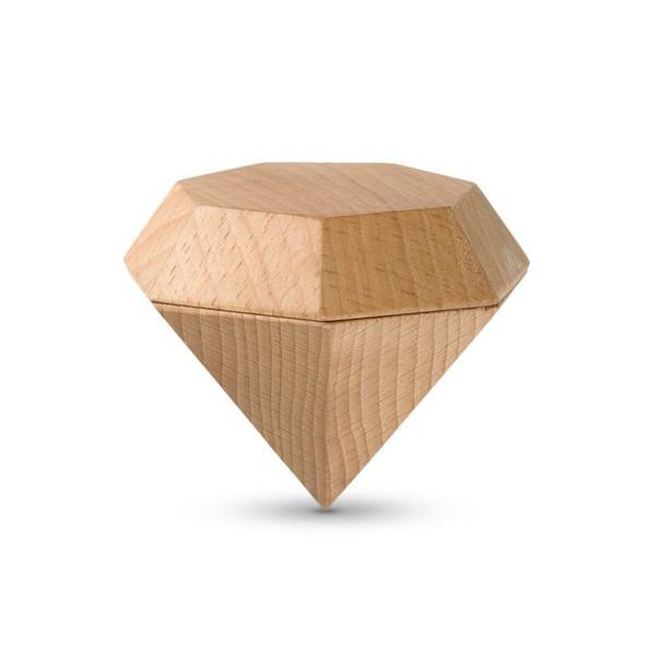 Areaware Diamond Box, Natural
