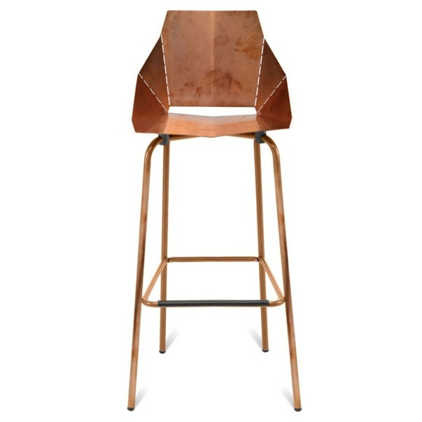 Blu Dot Copper Real Good Barstool