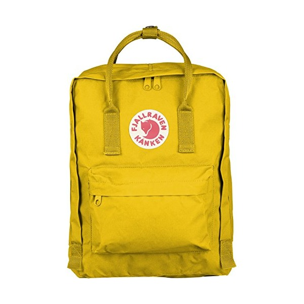 Fjallraven Kanken Daypack, Warm Yellow