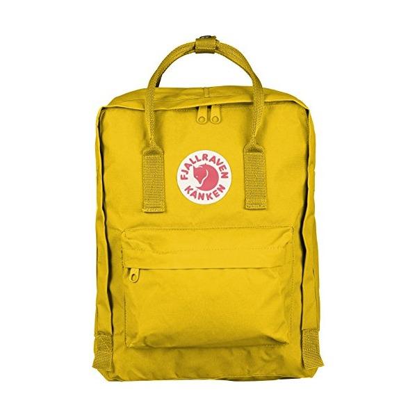 Fjallraven Kanken Daypack, Warm Yellow