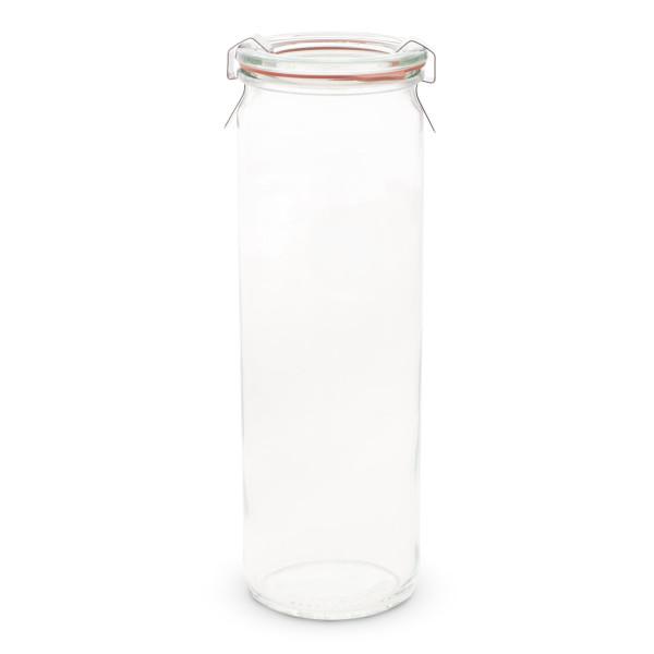 Weck Cyclinder Storage Jar, 600ml