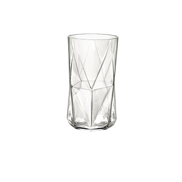Bormioli Rocco Cassiopea Cooler Glass, 16.25 oz., Set of 4, 16.25 oz.