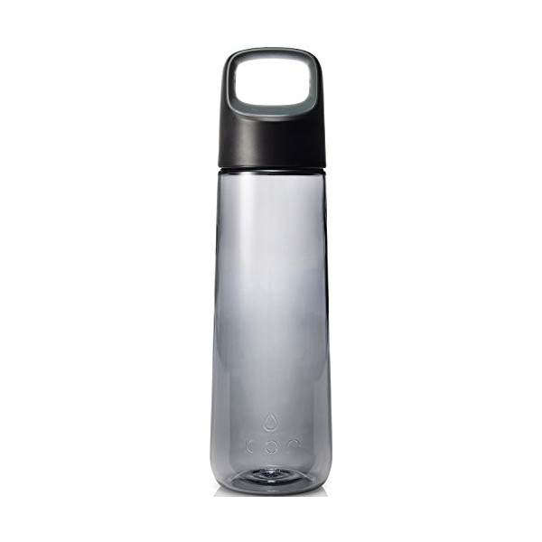 KOR Aura BPA Free Water Bottle, 750ml, Birch Grey