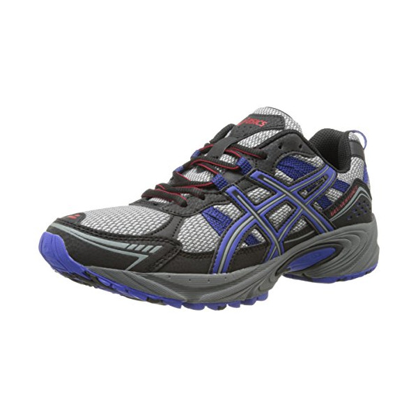 ASICS Men's Gel-Venture 4 Running Shoe,Aluminum/Onyx/Navy,7 M US