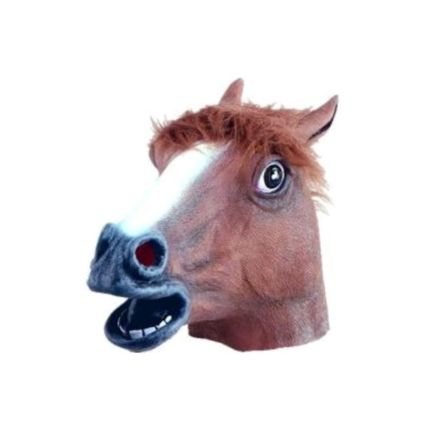 Horse Head Mask (Brown) - Adult Accessory