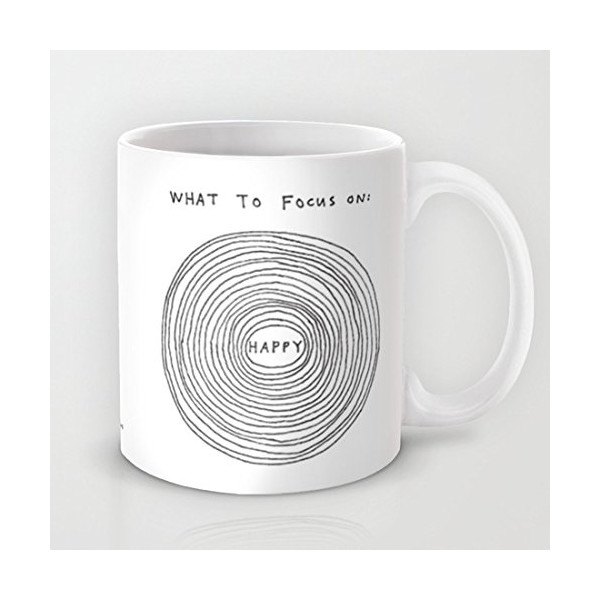 Society6 - What To Focus On Coffee Mug by Marc Johns