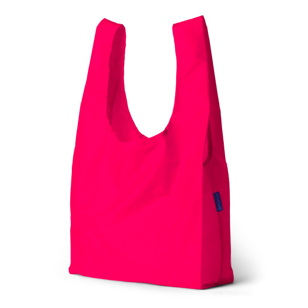 Baggu Reusable Shopping Bag, Hot Pink