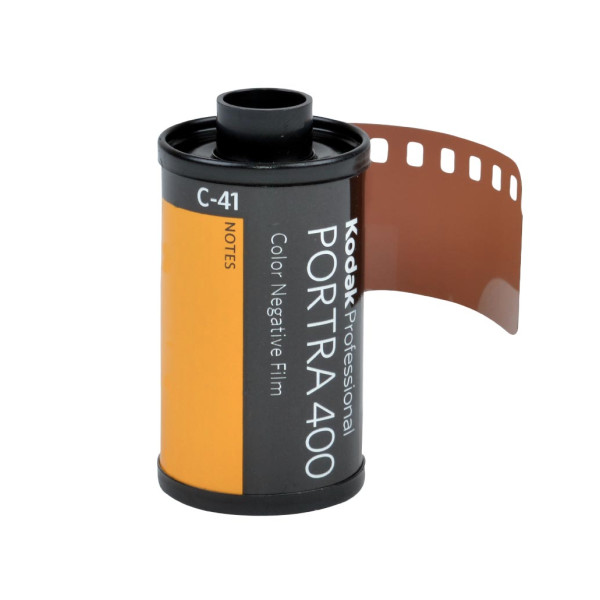 Kodak Portra 400 Professional ISO 400, 35mm, 36 Exposures, Color Negative Film, Pack of 5