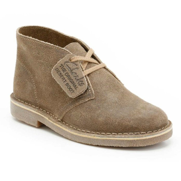 Clarks Originals Men's Desert Boot, Taupe Suede