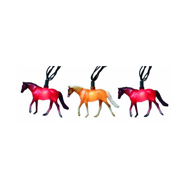 Rivers Edge 10-Piece Horse Party Light Set