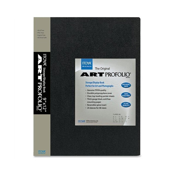 "Itoya - Art Profolio ""The Original"" Presentation Books, 9 x 12 Inches (IA129)"