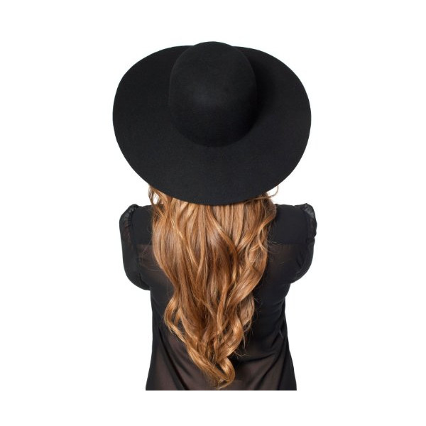 womens Wool Floppy Hat