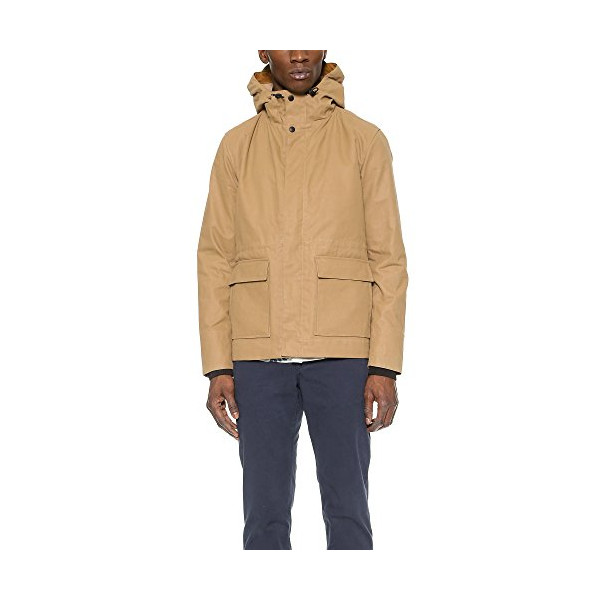 Norse Projects Men's Nunk Forest Jacket, Khaki, Medium
