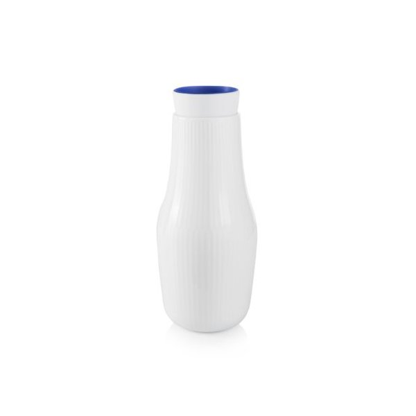 White Fluted Bottle By Royal Copenhagen