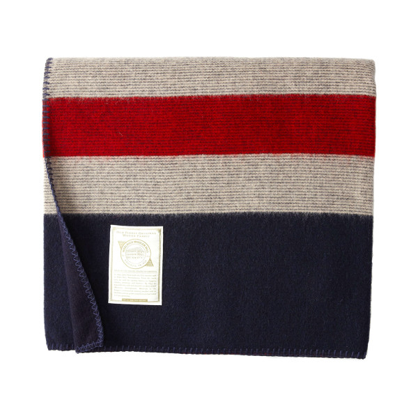 Woolrich Elite Freedom Throw Blanket, Red/White/Blue