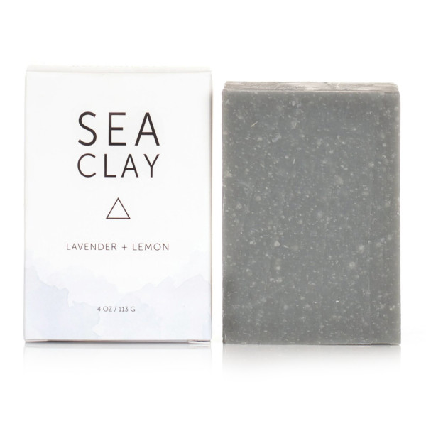 Herbivore Botanicals All Natural Sea Clay Soap Bar