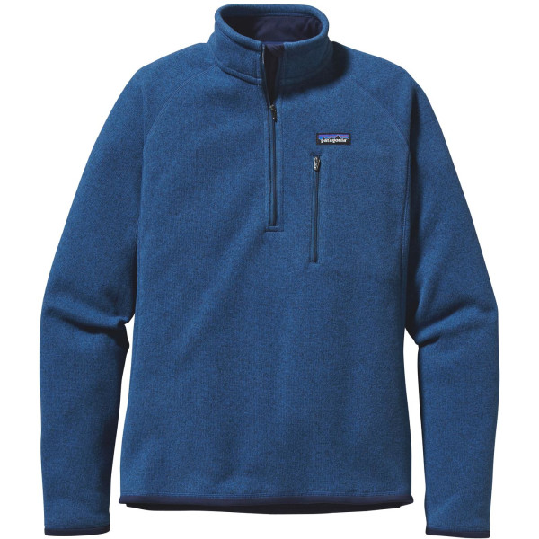 Patagonia Better Sweater Quarter-Zip, Glass Blue