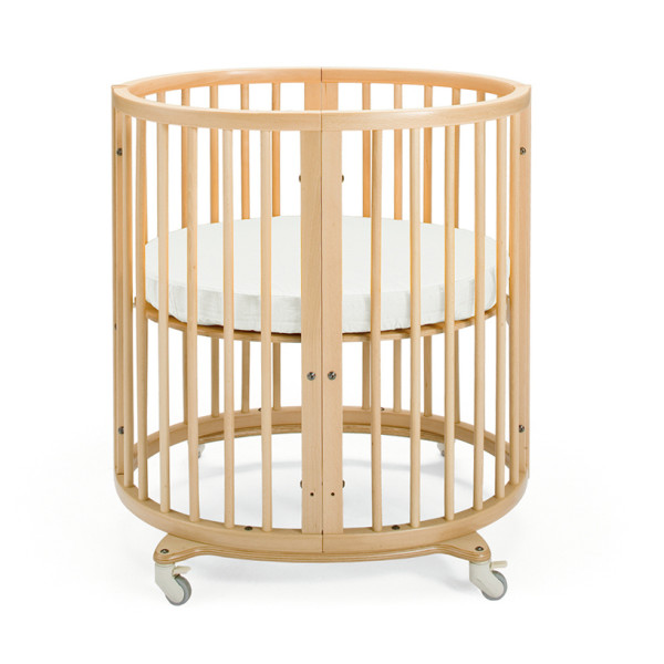 Stokke Sleepi Crib with Mattress and Drape Rod, Natural